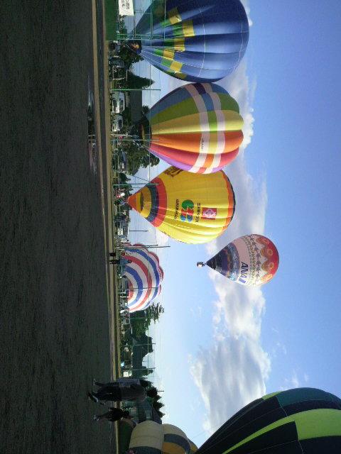 気球とラデュレとお熱